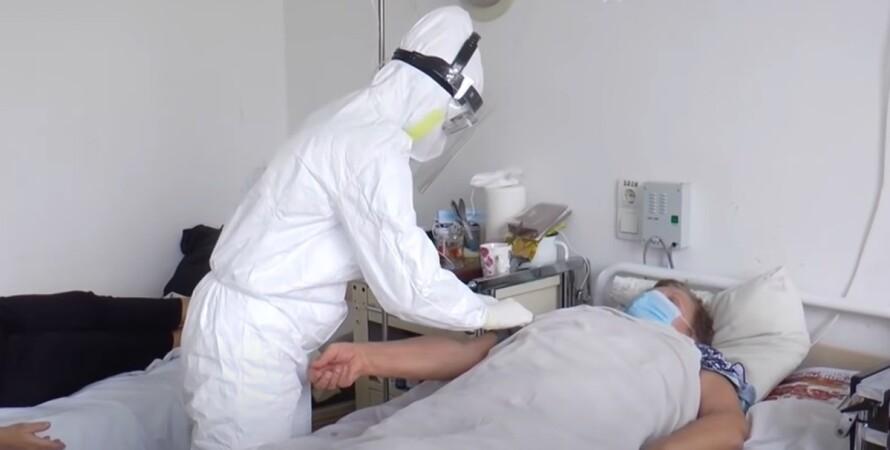 коронавірус, Україна, госпіталізації, койко-місця, пандемія, кількість ліжок