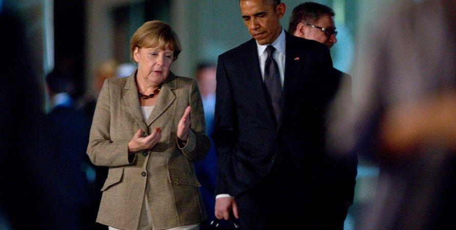Барак Обама и Ангела Меркель / Фото: Getty Images
