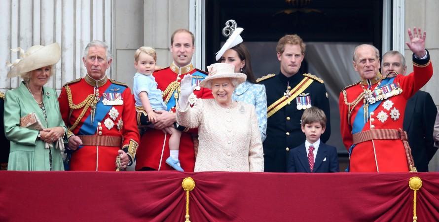 Кейт Миддлтон, принц Уильям и другие члены королевской семьи