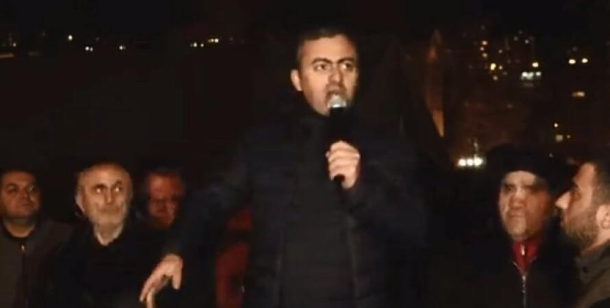 Ишхан Сагателян, армения, протесты, акции, пашинян, отставка, правительство