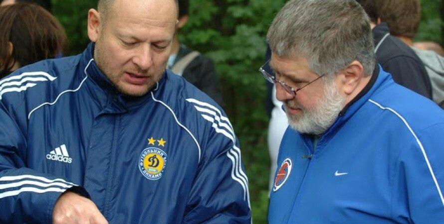 Александр Дубилет (слева) и Игорь Коломойский. Фото: MY.ua