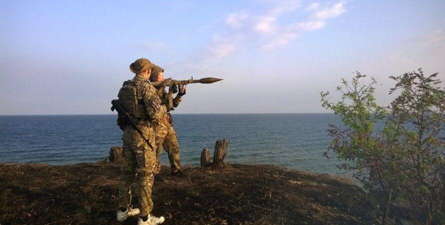 """Фото пресс-службы полка """"Азов"""""""