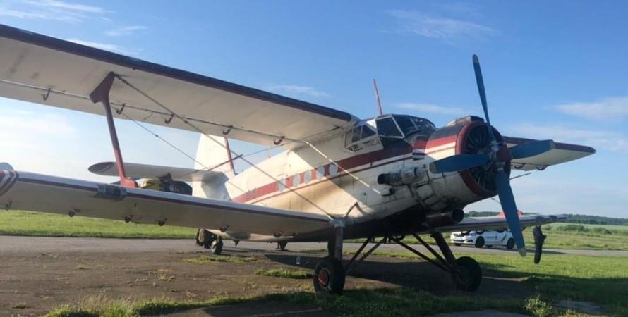 літак, ан-2, порушник, бердичів, фото
