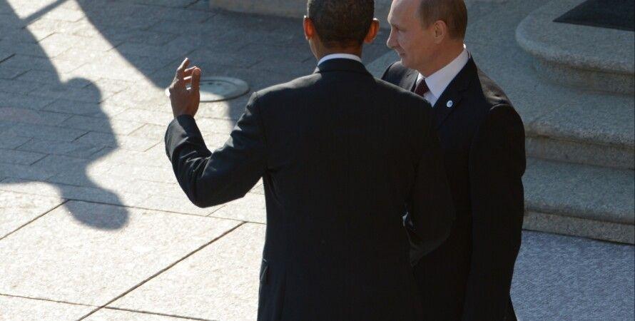 Барак Обама и Владимир Путин / Фото: Getty Images