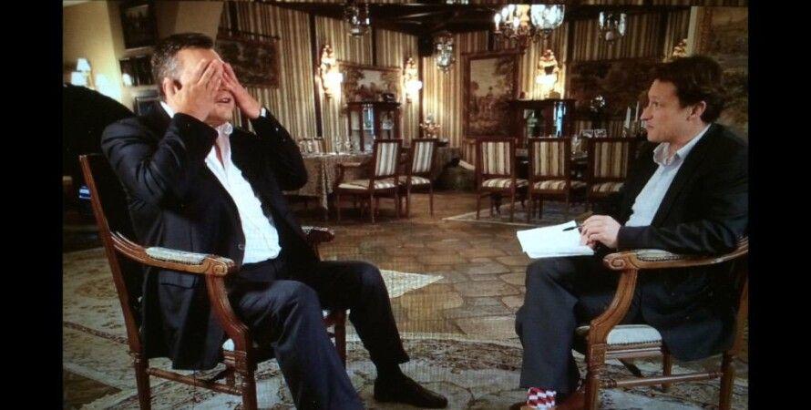 Интервью Виктора Януковича / Фото: Twitter