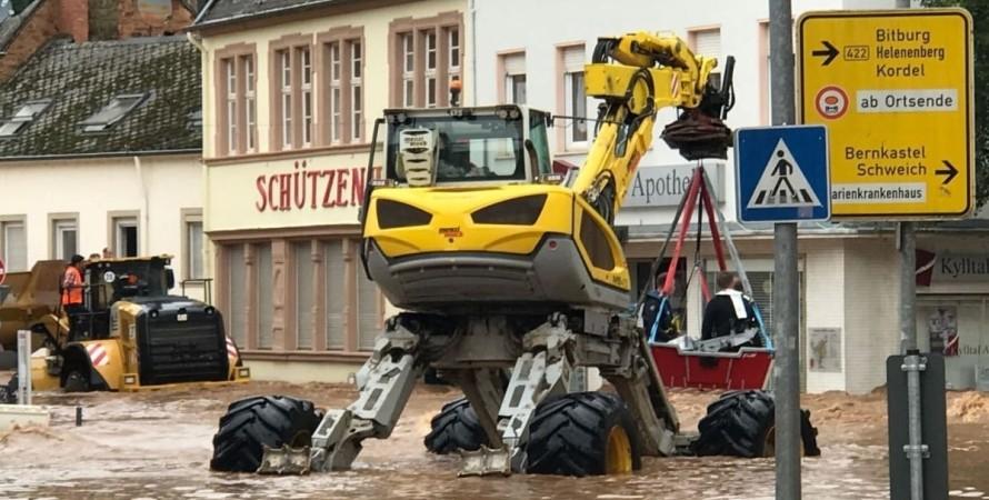 Німеччина, повінь, потоп,