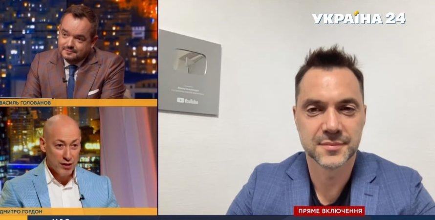 """Гордон запропонував перейменувати Україну на """"Росію-1"""""""