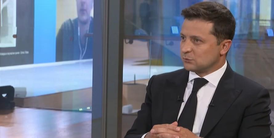 """Президент Владимир Зеленский на форуме """"Украина 30"""""""