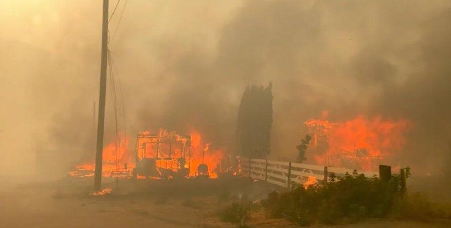 Пожар, Канада, Литтон