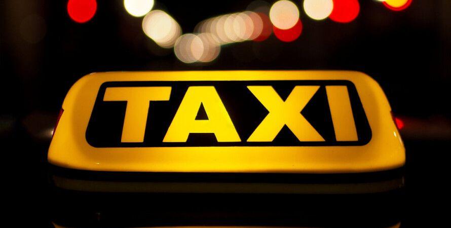 такси, машина такси