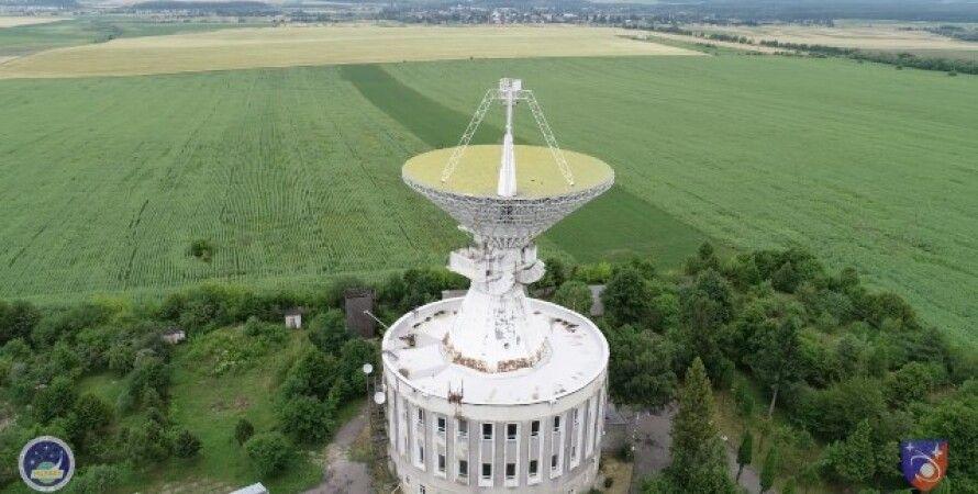 космос, радиотелескоп, нан украины, ученые, рт-32