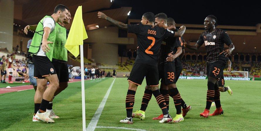 Шахтар — Монако, Педріні, Ліга чемпіонів