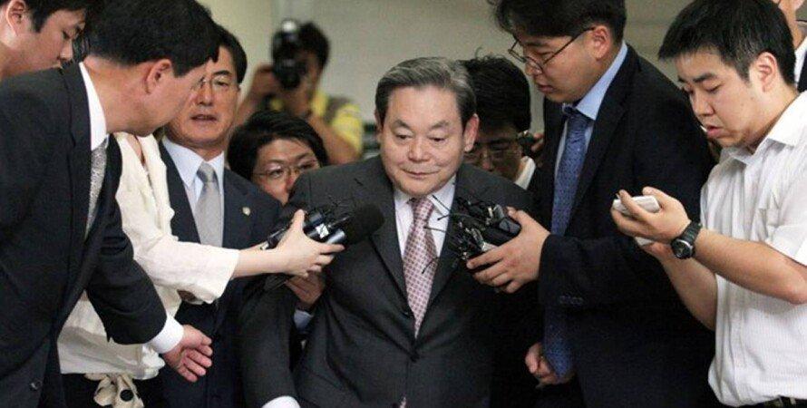 Ли Гон Хи, глава концерна, Samsung