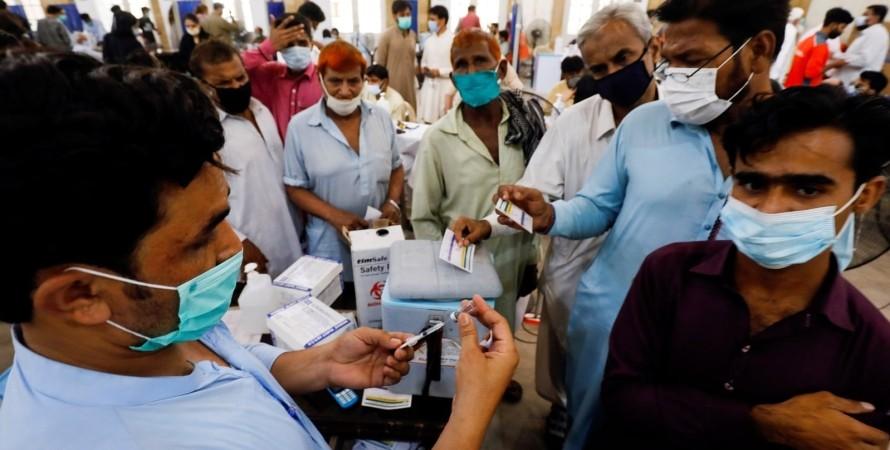 вакцина, коронавирус, covid-19, пакистан