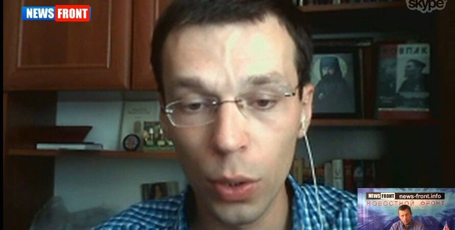 Василий Муравицкий / Скриншот информресурса сепаратистов