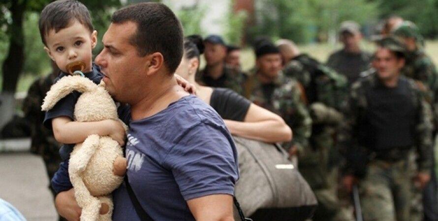 Переселенцы из Донбасса / Фото: eastnews.pl