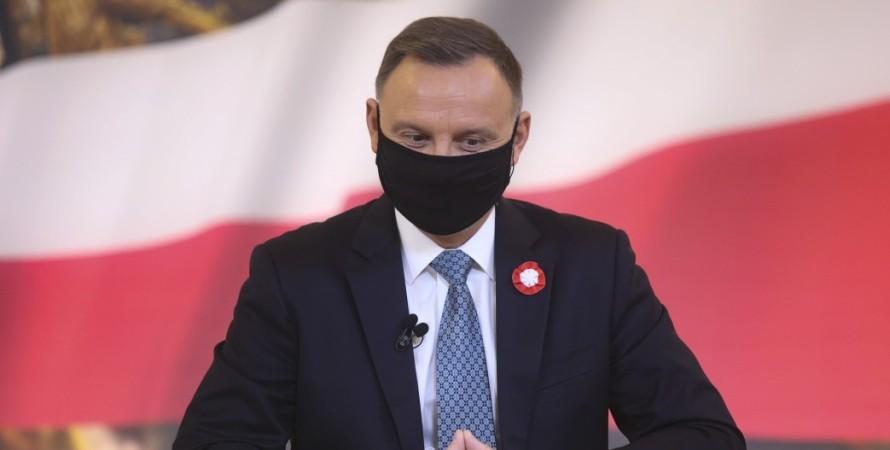 Президент Польши Анджей Дуда, саммит пяти стран, встреча в варшаве