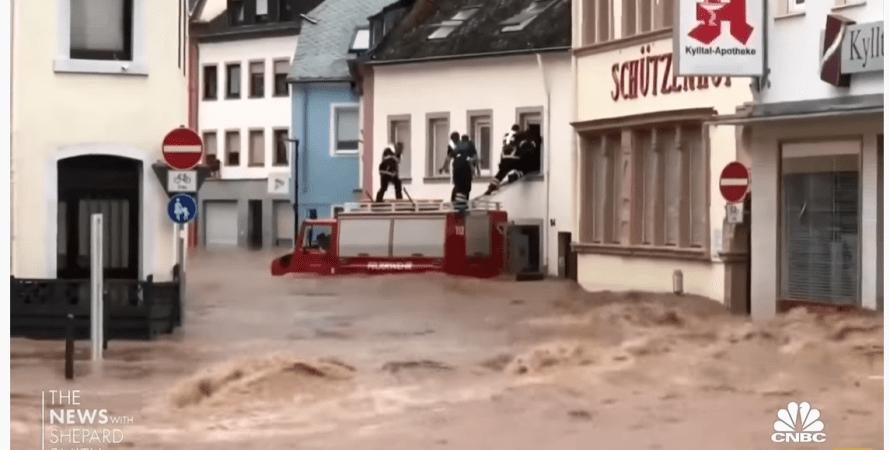 наводнение, германия, фото