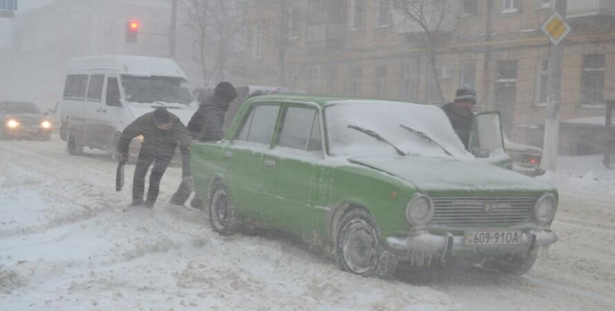 """Непогода на Одесщине, декабрь-2014 / Фото: """"Думская"""""""