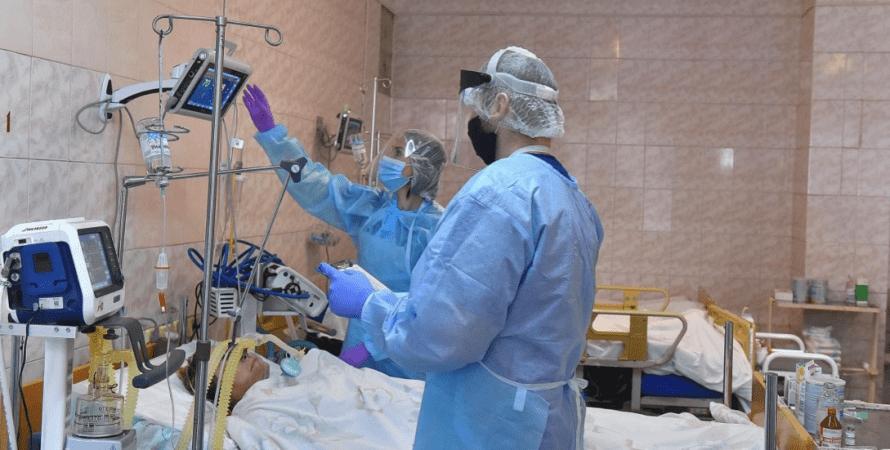 врачи, палата, коронавирус, пандемия, больничные койки