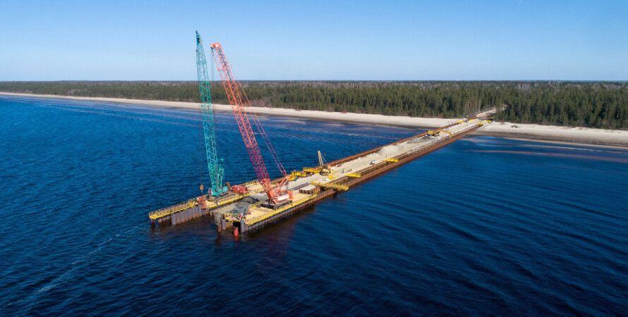 Северный поток, российский газ, Германия, санкции
