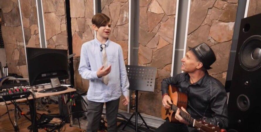 Олег Скрипка, син, батько, інтерв'ю