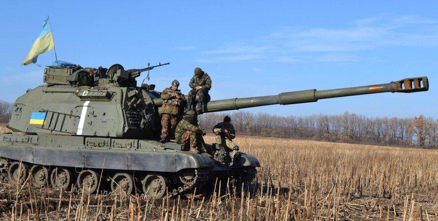Силы АТО в Донбассе / Фото: штаб АТО