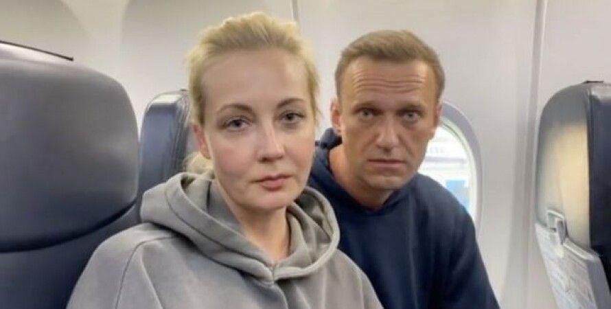 Юлия Навальная, Аэропорт, Германия, Москва, Журналисты