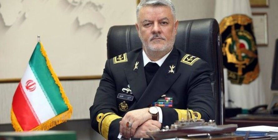 Главком ВМС Ирана контр-адмирал Хоссейн Ханзади / Фото: Mehr