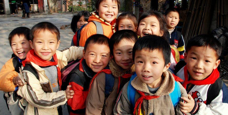 Китайские дети / Фото: thegaptravelguide.com