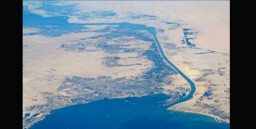 Южный вход, Суэцкий канал, фото