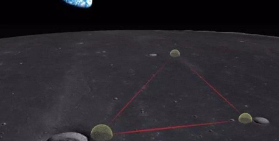 Гравитационно-волновая лунная обсерватория