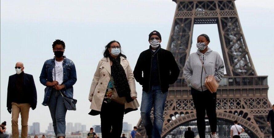 франція, пандемія коронавірусу, пандемія коронавірусу в Парижі, Жан Кастекс, кордони, поїздки