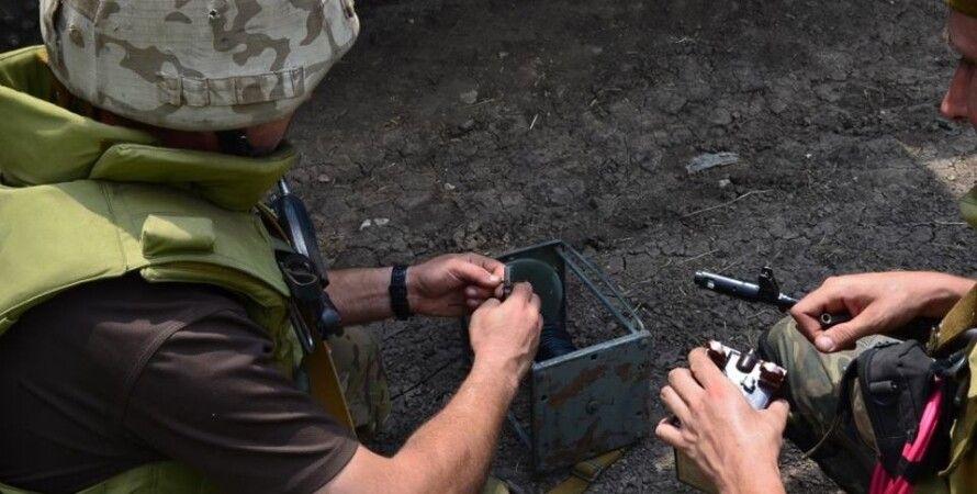 Разминирование в зоне АТО / Фото: infokava.com