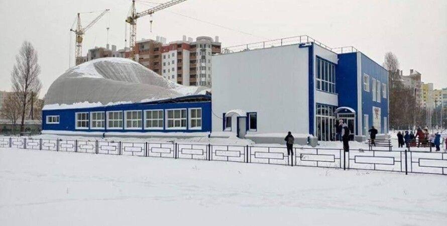 Спорткомплекс в Вишневом/Фото: facebook.com/zhdanovihor