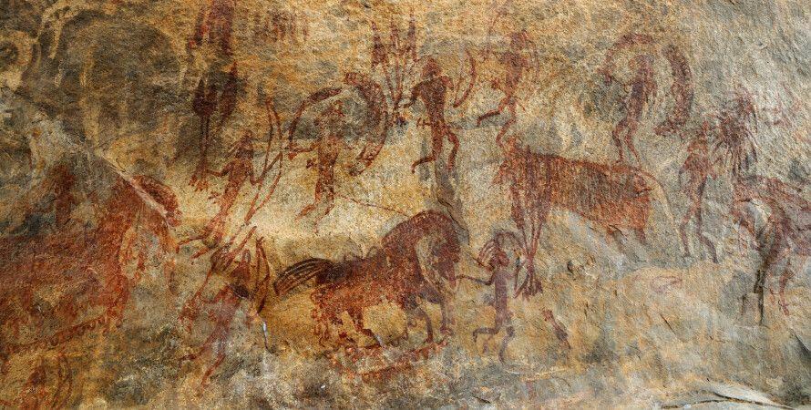 пещера, рисунки, древние люди