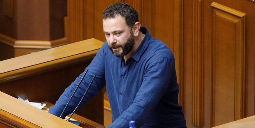 Олександр Дубінський, народний депутат, Слуга народу, партія, виключення