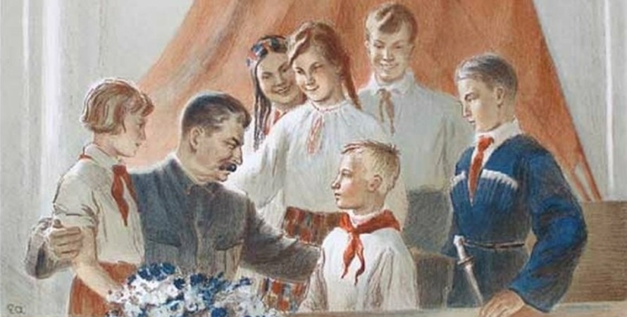 Йосип Сталін, картина