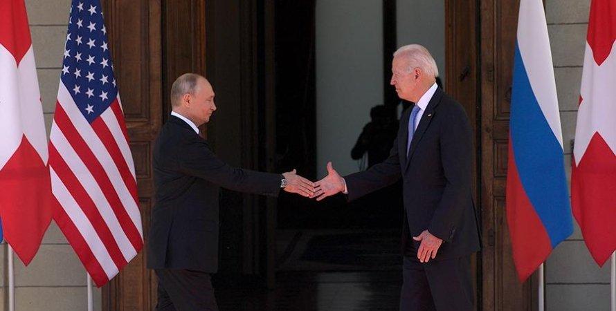 Путин и Байден, сша, рф, новые санкции, санкции россия, навальный, северный поток 2, санкции против россии, салливан