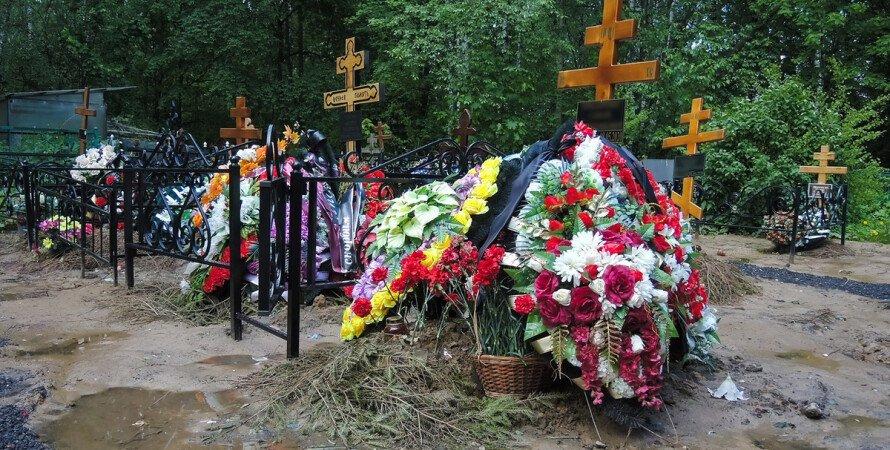 кладовище, поховання