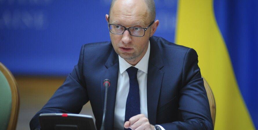 Арсений Яценюк / Фото пресс-службы Кабмина
