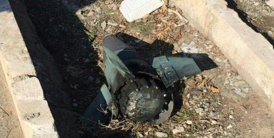 Ракета, которая возможно сбила украинский самолет / Фото: twitter.com/EliotHiggins