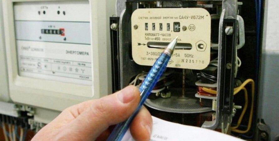 електроенергія, лічильник