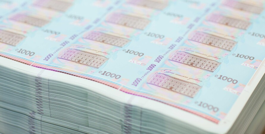 гривна банкноты 1000