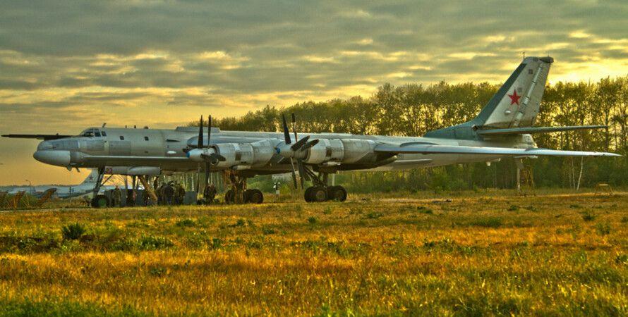 Символ холодной войны - бомбардировщик ТУ-95 / Фото: rewalls.com