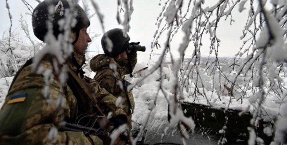 Фото: Пресс-центр штаба ООС
