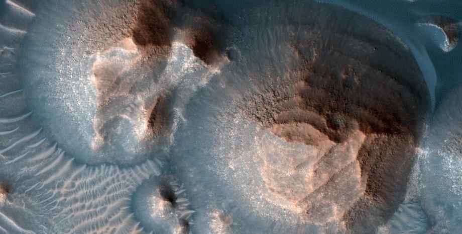 извержения вулканов, Марс, фото
