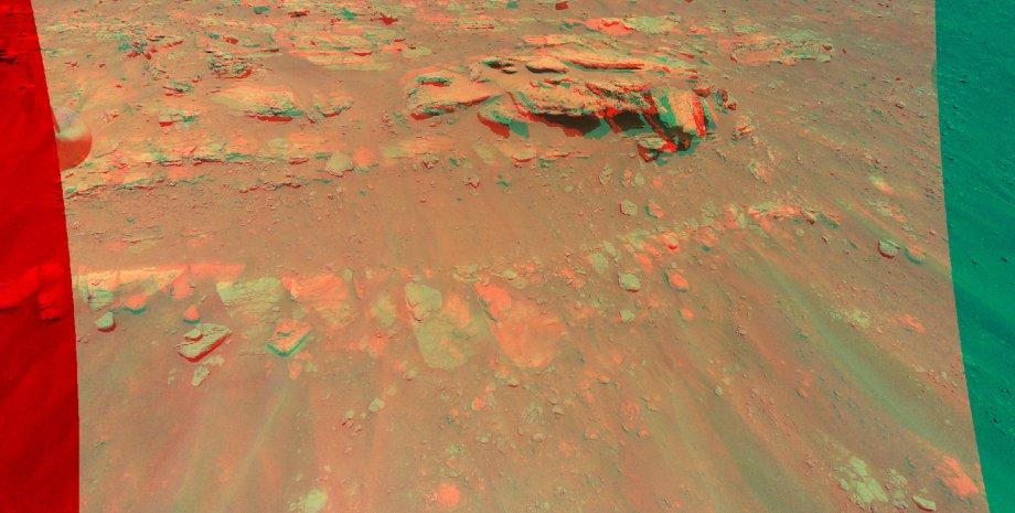 Марс, поверхня, пагорб, фото, 3D