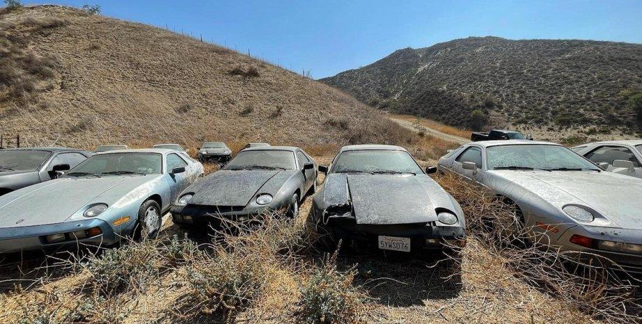 Porsche 928, заброшенные авто, коллекция авто, ретро-авто