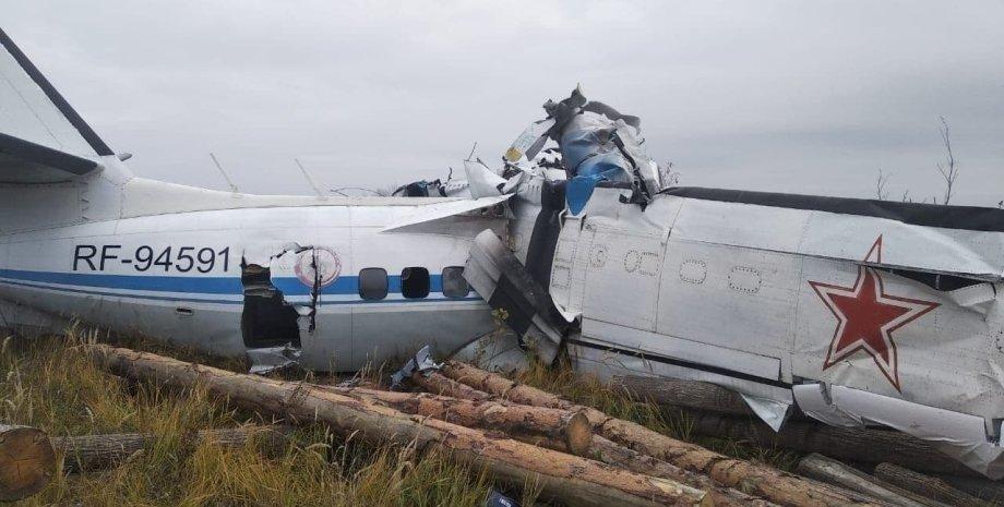 упавший в Татарстане самолет